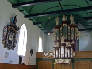 The restauration of the organ in the St.-Maartenskerk in Hallum by Sietze de Vries