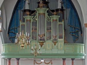 The organ in the Grote Kerk in Dalfsen by Aart van Beek & Gerrit Hoving