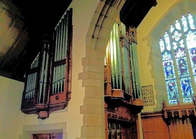 Adema bouwt een Engels orgel in New York