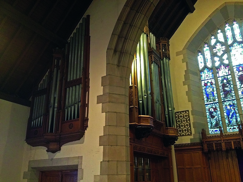 Adema builds an English organ in New York by Jan-Piet Knijff