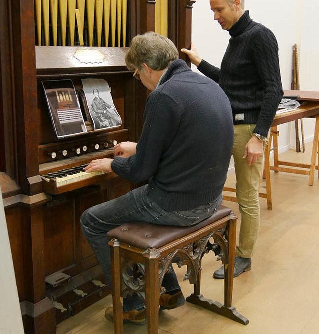 Een Engels orgeleiland in Groningen. In gesprek met Fokke-Rinke Feenstra & Luuk Sikkema