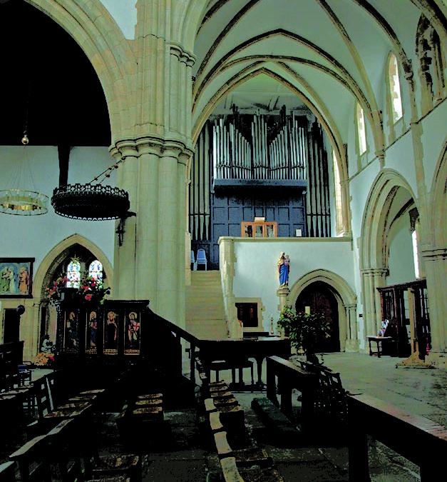 Engelse orgelbouw van nu naar toen