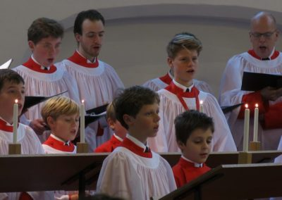 Loud Organs, His Glory, Forth Tell in Deep Tone' – De Anglican Choral Evensong in de Nederlandse context