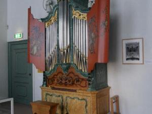 Het orgel uit Gapinge in het Nationaal Orgelmuseum te Elburg
