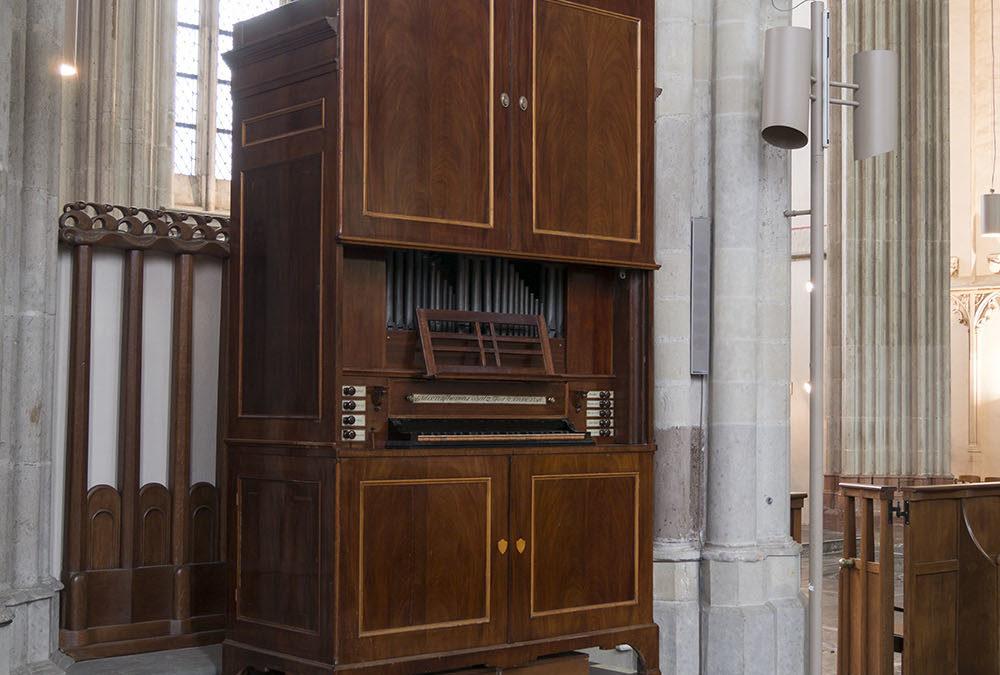 Het kabinetorgel in de Utrechtse Domkerk