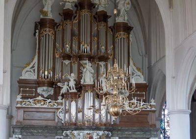 Het Hinsz/Van Dam-orgel in de Martinikerk van Bolsward