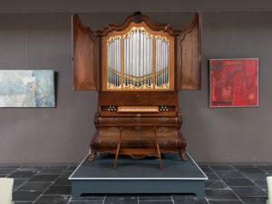 Two restored jewels: the house organs in Kasteel Amerongen and the Grote Kerk in 's-Hertogenbosch by Sietze de Vries