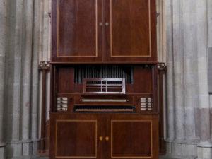 The cabinet organ in the Domkerk in Utrecht by Peter van Dijk