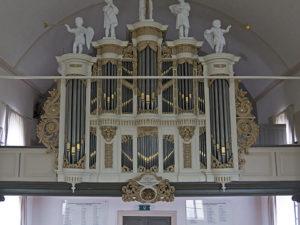 The Verhofstadt organ in the Dorpskerk in IJsselmuiden by Peter van Dijk