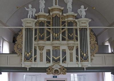 Het Verhofstadt-orgel in de Dorpskerk te IJsselmuiden