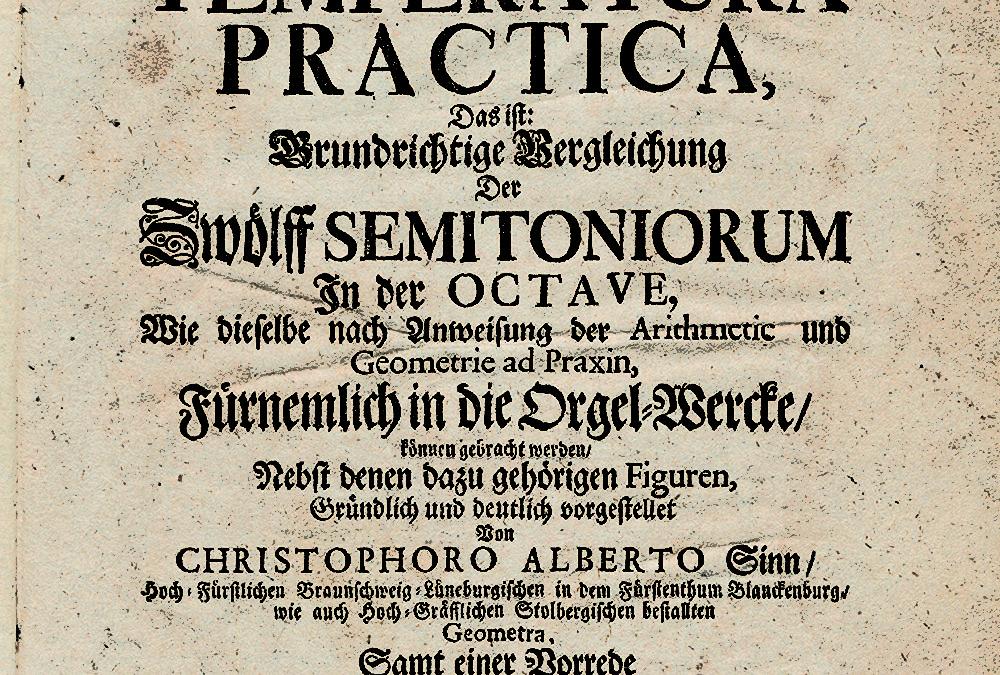 Middentoonstemming in het Nederland van de achttiende eeuw. Een uitstervend fenomeen