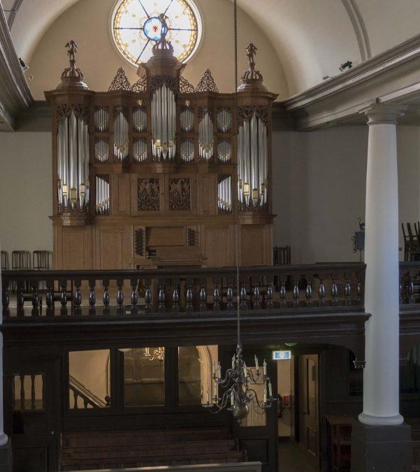 Het Edskes-orgel in de Lutherse Kerk te Groningen