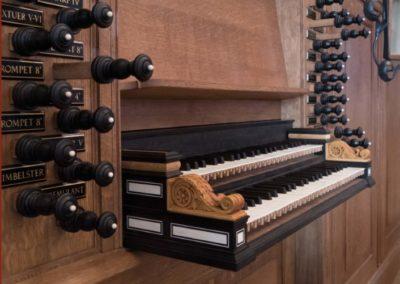 Speeltafel Edskes-orgel Groningen