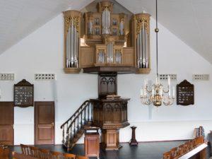Het Kögler-orgel in de Rehobothkerk te Nieuwleusen