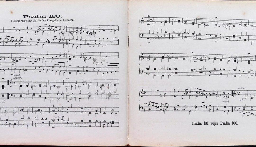 Orgelgebruik in de protestantse kerkdienst tussen 1886 en 1938. Deel 3: Het begeleiden van de gemeentezang