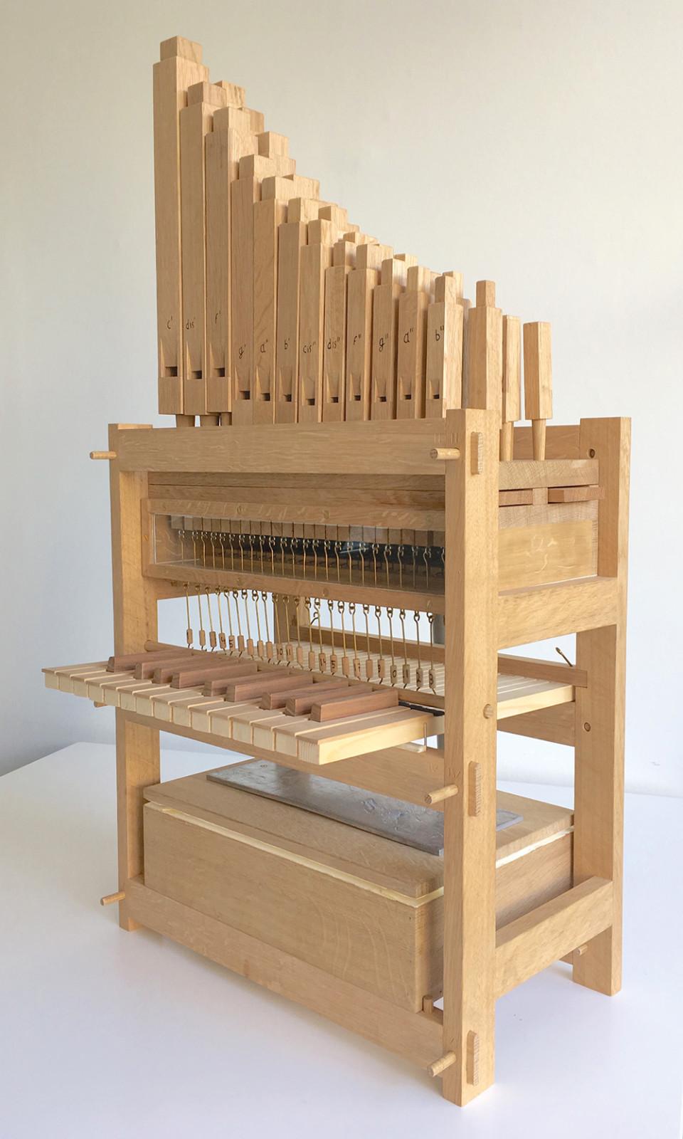 Doe-orgel Foto Lydia Vroegindeweij