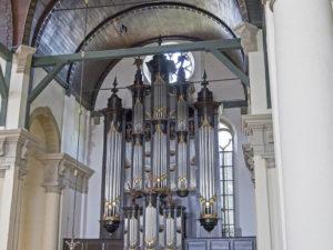 Het Timpe-orgel in de Nieuwe Kerk te Groningen