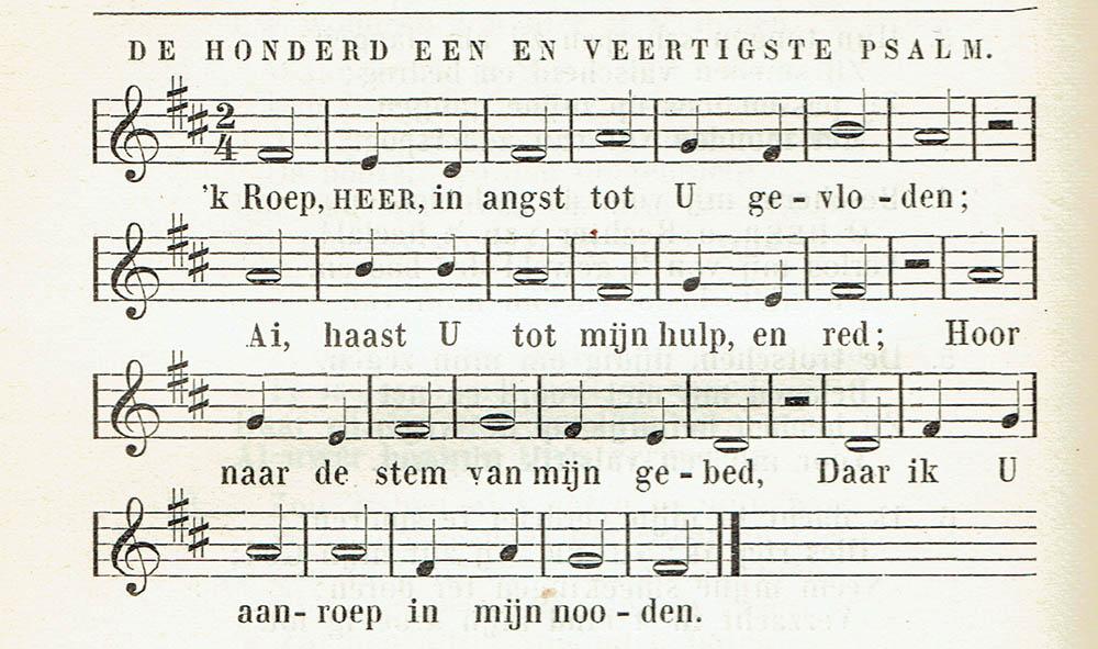Orgelgebruik in de protestantse kerkdienst tussen 1886 en 1938. Deel 4: Kerktoonsoorten en ritmisch zingen
