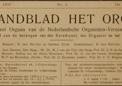 Orgelgebruik in de protestantse kerkdienst tussen 1886 en 1938. Deel 6 (slot): De betekenis van (orgel)muziek in de liturgie