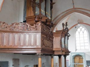The organ in the Nicolaïkerk in Appingedam