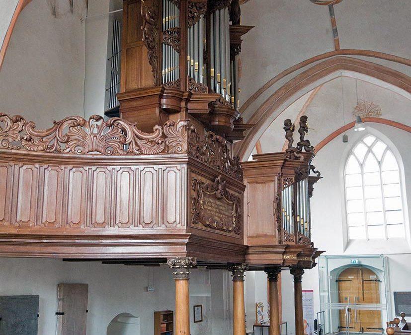 Het orgel in de Nicolaïkerk te Appingedam