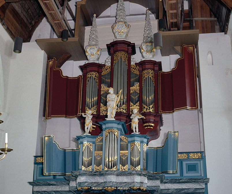 Barent Smit, organ maker in Hoorn and England