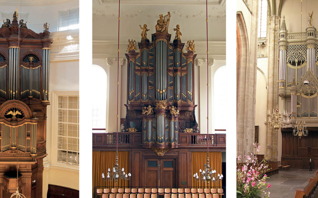 'An organ is a machine, but it makes magic' – Interview with three players of famous Bätz organs:  Sander van den Houten, Jan Hage, and Matthias Havinga
