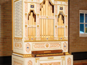 The creation of a Monteverdi organ