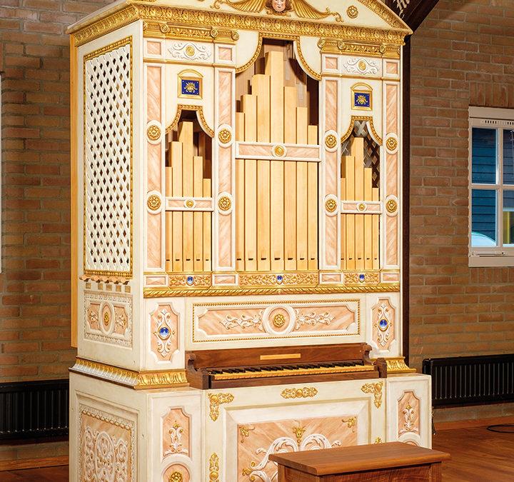 De creatie van een Monteverdi-orgel