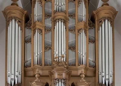 Het Van den Heuvel-orgel in de Bethelkerk te Lunteren