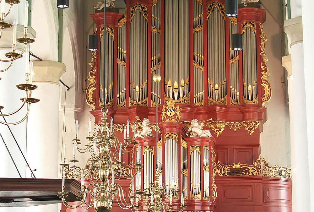 Het J.H.H. Bätz-orgel (1768) in de Petruskerk te Woerden