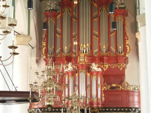 The J.H.H. Bätz organ (1768) in the Petruskerk in Woerden