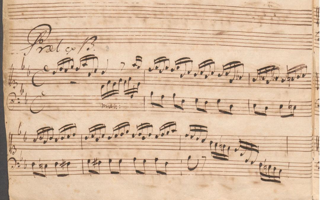 Een minimaal-invasieve ingreep in het 'kleine' Preludium in Bes, BWV 560