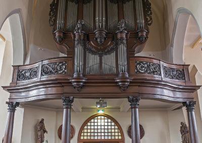 Het Clerinx-orgel in de St.-Lambertuskerk van Nederweert